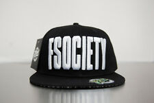 FSOCIETY 3D embroidered snap back baseball cap hat limited run RARE Mr Robot