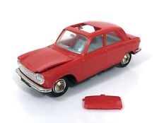 NOREV 1961 Peugeot 204 Miniature Car 1/43 Made in France #B11