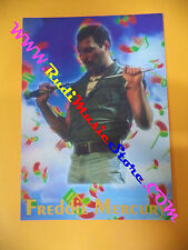 CARTOLINA PROMOZIONALE POSTCARD FREDDIE MERCURY Queen10x15cm no*cd dvd lp mc vhs