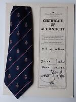 Original tie from former formula 1 Le Mans driver Jackie Ickx with certificate