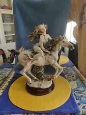 Giuseppe Armani Liberty Limited Edition 859/5000 Statue Retired 2000 Mib