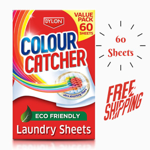 Colour Catcher Sheet To Protect Clothes From Colour Run 60 Sheets Value Pack