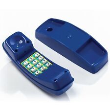 Swing Slide Climb PLAY TELEPHONE Real Push Buttons With Numbers BLUE *Aust Brand
