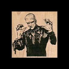 MONSTER RUBBER STAMP Horror Movie Creature Rubber Stamp WEREWOLF Halloween Stamp
