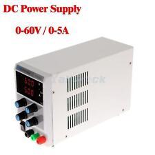 60V 5A 110V/220V Regulated DC Power Supply Adjustable Variable Digital Grade Lab