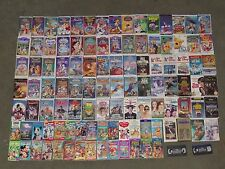 109 VHS Disney Movie Tapes Aladdin Beauty and the Beast Cinderella Dumbo + More
