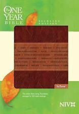 One Year Bible-NIV-Slimline: Arranged in 365 Daily Readings (Leather / Fine Bind