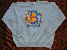 AUTHENTIC VTG Disneyland Resort Men's Sweater, SZ L, WINNIE DE POOH (7, PLB9)