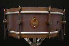 "A & F Drum Co 5"" x 14"" Raw Copper Snare Drum w/ VIDEO!"
