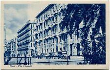 Primi '900 Bari Via Cognetti auto d'epoca palazzi passanti FP B/N ANIM