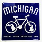 Sign - Michigan Bike