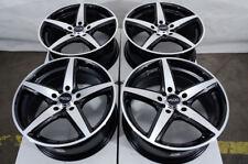 "17"" Wheels Cobalt Malibu Fiat 500X Easy Escape Focus Fusion Black Rims 5x108/110"