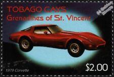 1979 CHEVROLET CORVETTE (Chevy) Mint Automobile Car Stamp (2003 Tobago Cays)