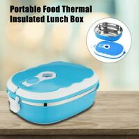 Food Warmer Kids Portable School Lunch Box Thermal Insulated Food Container Hot