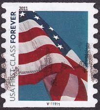 4491 4491a Forever Flag - PNC1 - Pl# V111111  PV/VP - used