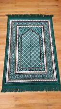 New Islamic Prayer Rug Muslim janamaz Mat Turk Sajadah Carpet Velvet Musallah