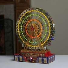 "Mr. Christmas World's Fair Grand Ferris Wheel Music Box 15"" Tall *VETERAN OWNED*"