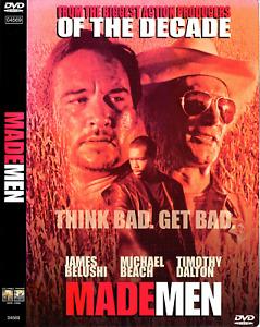 Made Men (DVD,1999) James Belushi, Timothy Dalton, Michael Beach; Louis Morneau.