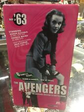 The Avengers 63' The Original British TV Cult Classic 3 VHS box set. VOL # 7,8,9