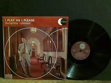 HUMPHREY LYTTLETON  I Play As I Please LP UK stereo  w/ Don Rendell sax Jazz EX!