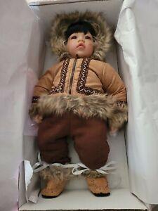 Adora Dolls, Barrow North to Alaska Eskimo Inuit Boy Limited Edition NEW IN BOX
