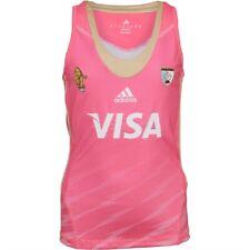 adidas Girls Las Leonas CAH Argentina Field Hockey Away Jersey Pink (12-13Years)