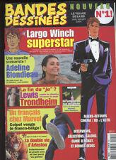 BANDES DESSINEES MAGAZINE N°1. JUIN/ JUILLET 2004.
