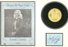 TAMMY WYNETTE (STAND BY YOUR MAN) SIGNED AUTOGRAPH