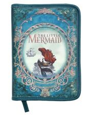 Disney The Little Mermaid Ariel Story Book Zip Closure Makeup Cosmetic Bag NWT!