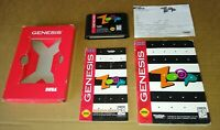 Sega Genesis - Zoop (VERY GOOD) - Complete Cardboard CIB Box FUN Game