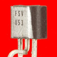 10x TRANSISTOR MOSFET CANAL P ZETEX FSV053 équ. à ZVP2106 trié lot de 10