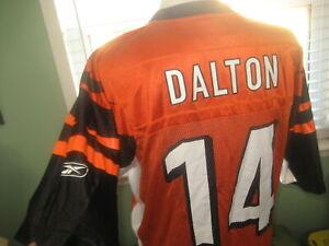 NFL CINCINNATI BENGALS QUARTERBACK ANDY DALTON # 14 JERSEY MEN'S sz SMALL
