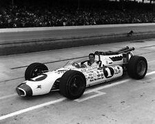 1966 Indy Racecar Driver MARIO ANDRETTI Glossy  8x10 Photo Print Formula One 1