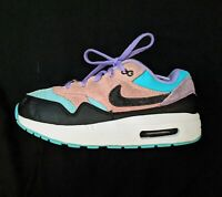 """Girls Nike Air Max Athletic Shoes Size 2 Youth """"Have a NIKE Day"""" Edition"""