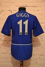 VINTAGE MANCHESTER UNITED FOOTBALL SHIRT 2002/2003 SOCCER JERSEY NIKE #11 GIGGS