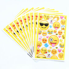 Emoji Face Kids Happy Birthday Yellow Party Bags Loot Bag
