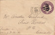 United-State / USA Postage Two Cent pour le Canada 1893 Lettre/Cover