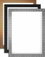 Modern Retro Bright/Mirror Effect Mosaic Picture Photo Poster frame