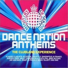DANCE NATION ANTHEMS - MINISTRY OF SOUND CLUBLAND Hits Music Audio CD Brand New
