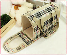 Cute Luxury Plush Pet Puppia Bed/House/Carrier/Tote-Pink&Beige For Cozy Dog/Cat2