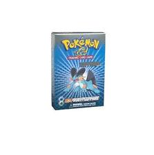 Pokemon Ex-Ruby & Sapphire Set Blue Theme Deck Box Set Factory Sealed Rare!