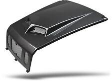 NEW POLARIS RZR 800 RZR 800S 08 - 10 BLACK CARBON FIBER SCOOPED HOOD RZR4