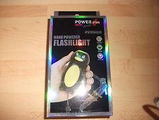 Lampe de poche dynamo pingouin Power Plus junior (neuve et non déballée)