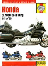 2001-2010 Haynes Honda GL 1800 Gold Wing Hardback Repair Manual