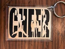Cheerleading Keychain with Cheer 2