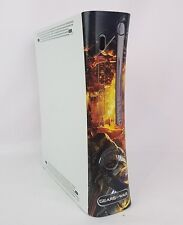 XBox 360 Gears of War Skin Decal Console As Is For Parts Not Tested Console Only