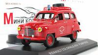 """Scale model car 1:43 Renault Colorale 4x4 """"Pompiers"""""""