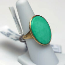 MARCO BICEGO NEW 18K Yellow Gold Lunaria Turquoise Cocktail Ring 7
