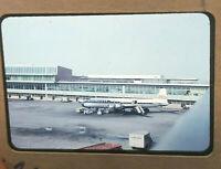 Vintage 1950s 35mm Slide UNITED AIRLINES Aircraft Philadelphia International