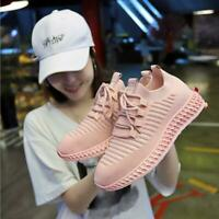 Fashion Women's Breathable Jogging Shoes knitting Walking Sneaker Sports Shoes
